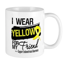 Friend Endometriosis Ribbon Small Mug