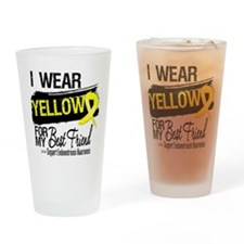 Best Friend Endometriosis Drinking Glass