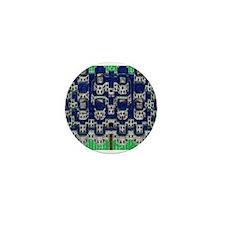 White Wall Castle Mini Button (10 pack)