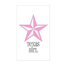 texas girl- Rectangle Sticker