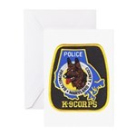 Baltimore Police K-9 Greeting Cards (Pk of 10)