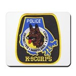 Baltimore Police K-9 Mousepad