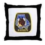 Baltimore Police K-9 Throw Pillow