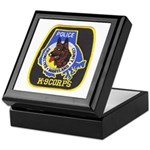 Baltimore Police K-9 Keepsake Box