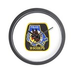 Baltimore Police K-9 Wall Clock