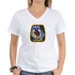 Baltimore Police K-9 Women's V-Neck T-Shirt