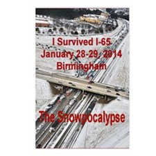 I-65 Birmingham Gridlock Postcards (Package of 8)