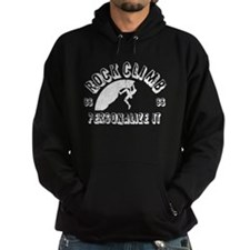 Personalized Rock Climb Hoodie