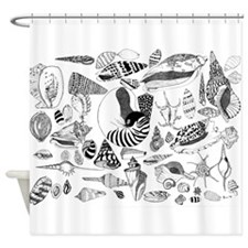 Solomon Shells Shower Curtain