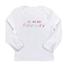 miss february.PNG Long Sleeve T-Shirt
