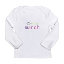 miss march.PNG Long Sleeve T-Shirt