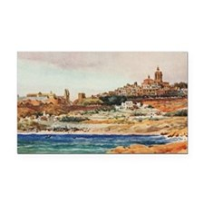 Tarragona, Spain - Seaside Sc Rectangle Car Magnet