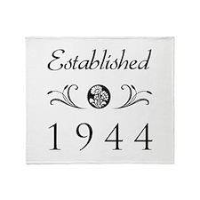 Established 1944 Throw Blanket