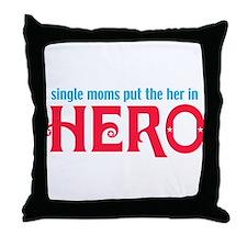 Moms Throw Pillow