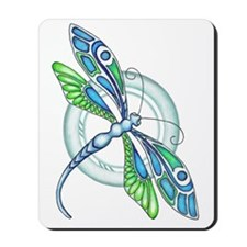 Decorative Dragonfly Mousepad