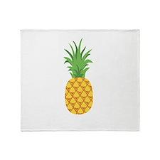 Pineapple Fruit Throw Blanket