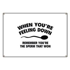 When You're Feeling Down Banner