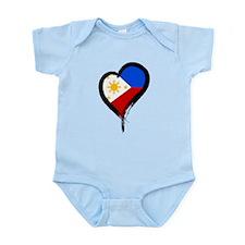 Heart Nation 08 Infant Bodysuit