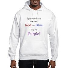 Episco-Purple Hoodie