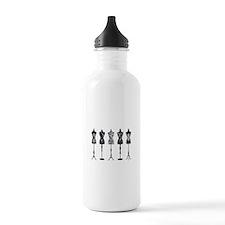 Vintage fashion mannequins Water Bottle