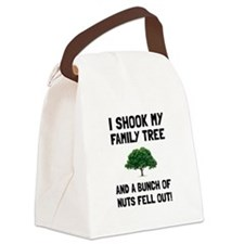 Family Tree Nuts Canvas Lunch Bag