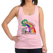 Take back the rainbow Racerback Tank Top