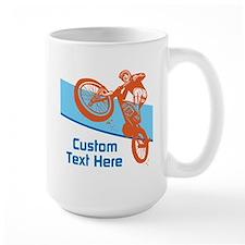 Custom Motocross Bike Design Mugs