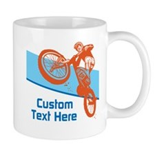 Custom Motocross Bike Design Mugs