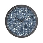 Steampunk Panel - Steel Wall Clock