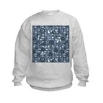 Steampunk Panel - Steel Kids Sweatshirt