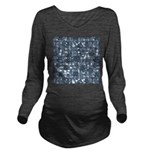 Steampunk Panel - St Long Sleeve Maternity T-Shirt