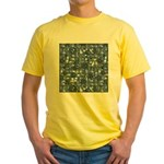 Steampunk Panel - Steel Yellow T-Shirt