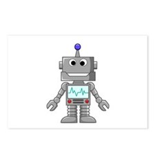 Happy Robot Postcards (Package of 8)