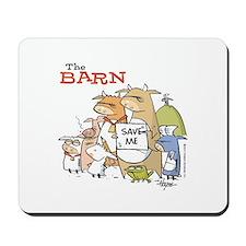 The Barn: The Whole Gang! Mousepad