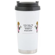 Funny Charity humor Travel Mug
