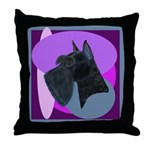 Giant Schnauzer Design Throw Pillow