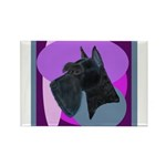 Giant Schnauzer Design Rectangle Magnet (100 pack)