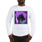Giant Schnauzer Design Long Sleeve T-Shirt