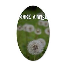 Make a Wish 35x21 Oval Wall Decal