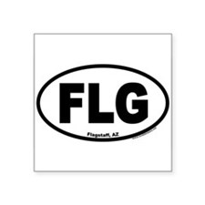 Flagstaff, Arizona FLG Oval Sticker