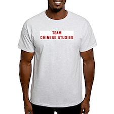 Team CHINESE STUDIES T-Shirt