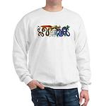 Fire Drake and Sea Serpent Sweatshirt