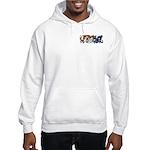 Fire Drake and Sea Serpent Hooded Sweatshirt