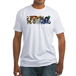Fire Drake and Sea Serpent Fitted T-Shirt