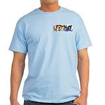 Fire Drake and Sea Serpent Light T-Shirt