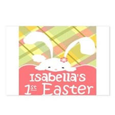 Personalize Babys 1st Easter Postcards (Package of
