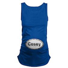 Casey Metal Oval Maternity Tank Top