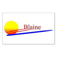 Blaine Rectangle Decal