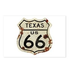 Texas Route 66 - Postcards (Package of 8)