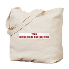 Team BIOMEDICAL ENGINEERING Tote Bag